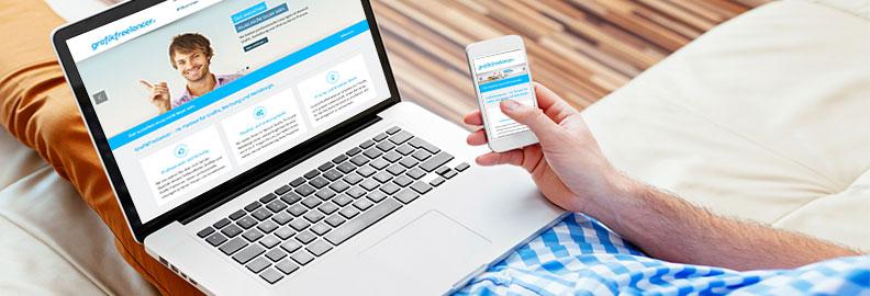 Webdesign in St.Gallen – Unsere Webdesigner und Freelancer gestalten und erstellen Ihre neue Firmenwebseite oder private Homepage.